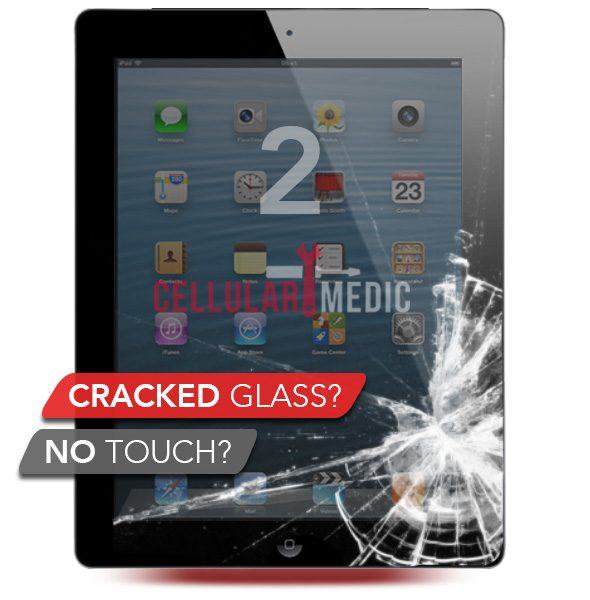 iPad 2 Digitizer Glass Screen Repair