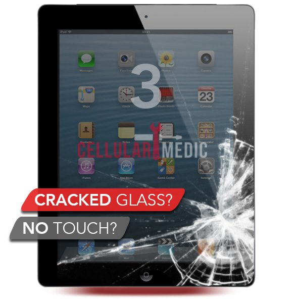 iPad 3 Digitizer Glass Screen Repair