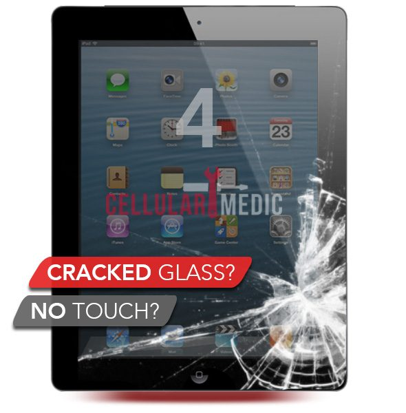 iPad 4 Digitizer Glass Screen Repair
