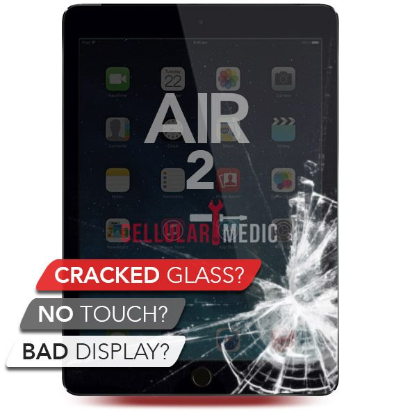 iPad Air 2 LCD/Digitizer Screen Repair