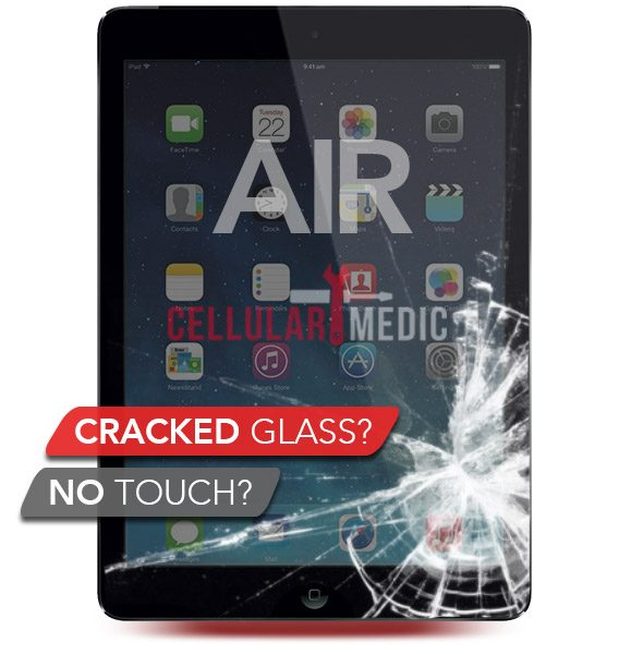 iPad Air Digitizer Glass Repair